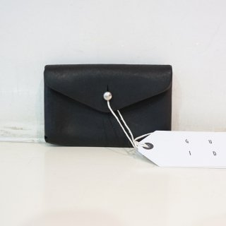 GUIDI HORSE CULATTA FULL GRAIN CARD HOLDER(EN01)