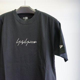 YOHJI YAMAMOTO HOMME 21ssエンブロイダリー シグネチャーロゴ コットン Tシャツ(HD-T95-081)