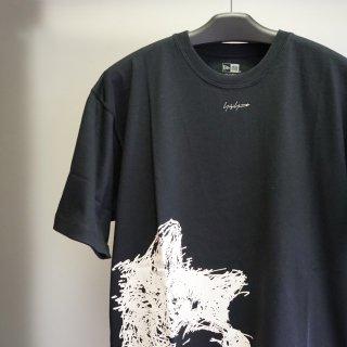 YOHJI YAMAMOTO HOMME SS21 ドッグ シグネチャーロゴ コットン Tシャツ(HD-T96-082)