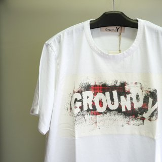 GroundY Check Logo Graphic Tee(GT-T31-015)