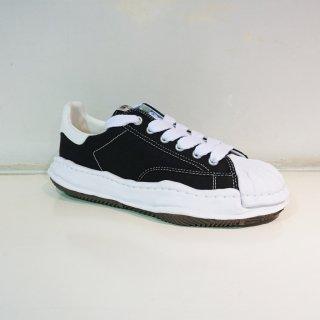 Maison MIHARA YASUHIRO OG Sole Shellcap Canvas Low-top Sneaker(A06FW704)BLK
