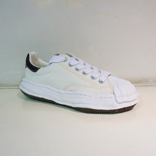Maison MIHARA YASUHIRO OG Sole Shellcap Canvas Low-top Sneaker(A06FW704)WHT