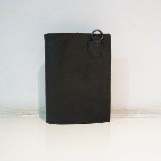 ISAMUKATAYAMA BACKLASH ダブルショルダー製品染めウォレット(318-03)BLK