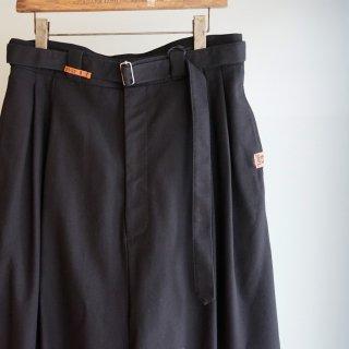 Maison MIHARA YASUHIRO over sarouel pants(A07PT062)BLK