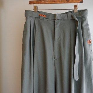 Maison MIHARA YASUHIRO over sarouel pants(A07PT062)GRN