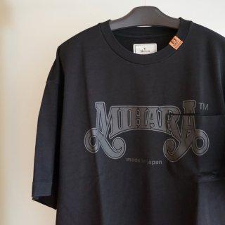 Maison MIHARA YASUHIRO MIHARA printed Tee(A07TS703)BLK