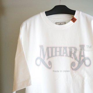 Maison MIHARA YASUHIRO MIHARA printed Tee(A07TS703)WHT