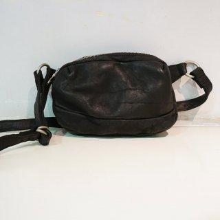 ISAMUKATAYAMA BACKLASH ジャパン ダブルショルダー フルタンニン製品染めショルダーバッグ(92-19)
