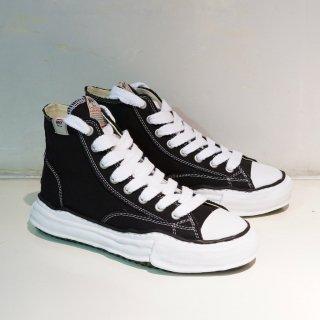 Maison MIHARA YASUHIRO original sole Canvas High-cut Sneaker(A01FW701)BLK