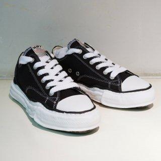 Maison MIHARA YASUHIRO original sole Canvas Low-cut Sneaker(A01FW702)BLK