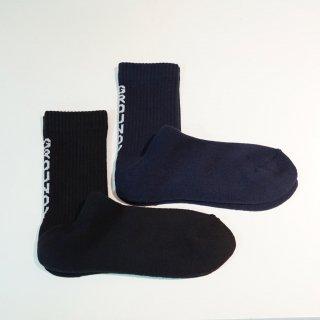 GroundY 2pac GY logo socks(GM-M01-090)NVY/BLK