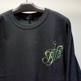 Myne Embroidery L/S(G06LT303)BLK