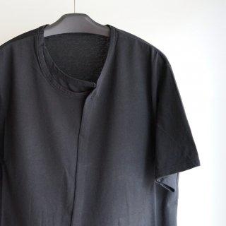 Ground Y Collar deformed short sleeves(GM-T11-040)