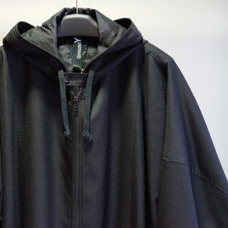 GroundY Gabardine Big hoody coat(GA-D03-100)