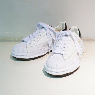 Maison MIHARA YASUHIRO OG Sole Shellcap Leather Low-top Sneaker(A06FW702)WHT