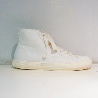 General Scale PAST Sole High-top Sneaker(A06FW501)WHT