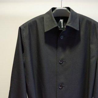 GroundY Gabardine Back Pleated Long Shirt(GM-B06-100)