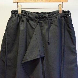 GroundY Gabardine Detachable Skirt Pants(GM-P16-100)
