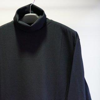 GroundY Jersey Zipper Opened Big Turtleneck Cut Sew(GM-T18-040)