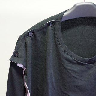 GroundY Jersey 3way Drape Cut Sew(GM-T28-040)
