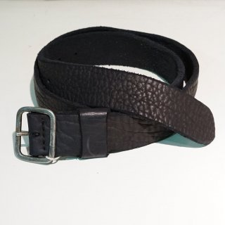 GUIDI BISON LEATHER BELT WITH BUCKLE(BLT16)