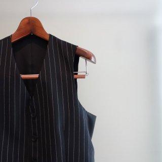 ISAMU KATAYAMA BACKLASH the suit STRIPE VEST(1305-09)