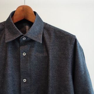 BACKLASH COTTONネルシャツ(1306-12)BLK