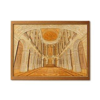 木はり絵手作りキット「ヴェルサイユ宮殿」