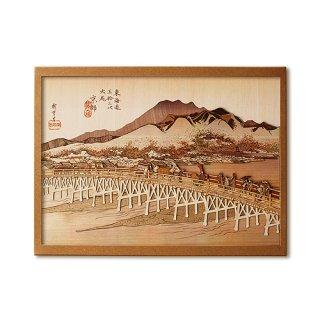 木はり絵手作りキット「京師 三条大橋」