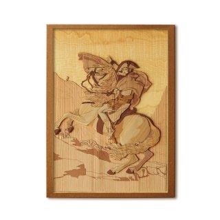 木はり絵手作りキット「アルプスを越えるナポレオン」