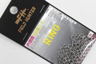 フィールドハンター スプリットリング S.RING シルバー #1 徳用100本入り