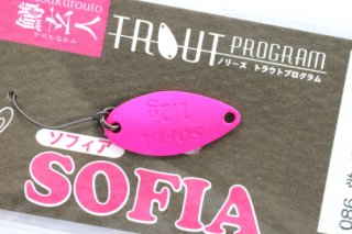 ノリーズ SOFIA  鱒玄人 ソフィア 1.2g #086 蛍光ピンク