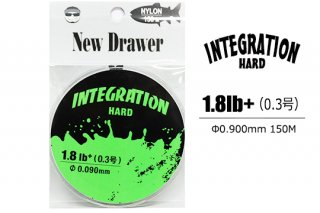 New Drawer ナイロンライン INTEGRATION HARD 0.3号 1.8lb