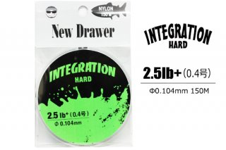 New Drawer ナイロンライン INTEGRATION HARD 0.4号 2.5lb