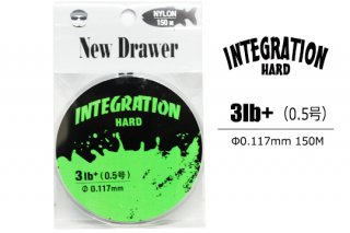New Drawer ナイロンライン INTEGRATION HARD 0.5号 3.0lb