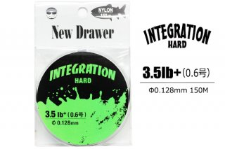 New Drawer ナイロンライン INTEGRATION HARD 0.6号 3.5lb