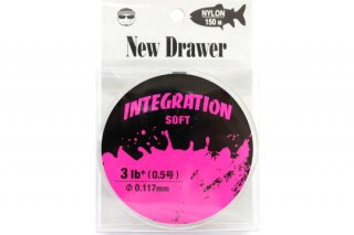 New Drawer ナイロンライン INTEGRATION SOFT 0.5号 3.0lb