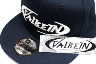 ValkeIN フラットキャップ #ネイビー/ホワイト