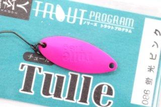 ノリーズ Tulle  鱒玄人チュール 1.8g #086 蛍光ピンク