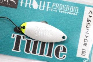 ノリーズ Tulle  鱒玄人チュール 1.8g #097 ホワイトパラディン
