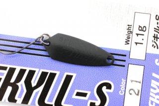 ロデオクラフト ジキル JEKYLL-S 1.1g #21 ブラック(マット)
