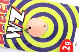 ロブルアー BABELWZ 1.2g #2 レッドグロー