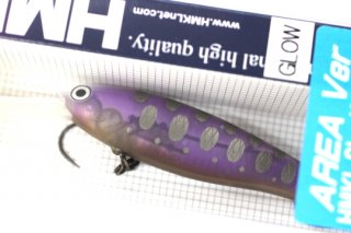 ハンクル Shad 65MR S #GP CLEAR PURPLE