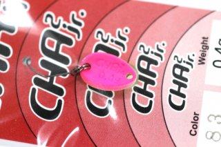 ロデオクラフト チャチャ CHA2 Jr 0.4g #83 蛍光イエロー/蛍光ピンク 両面グロー