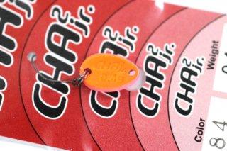 ロデオクラフト チャチャ CHA2 Jr 0.4g #84 蛍光ピンク/蛍光オレンジ 両面グロー