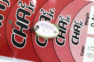ロデオクラフト チャチャ CHA2 Jr 0.4g #85 蛍光イエロー/レッドグロー 両面グロー