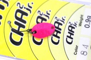 ロデオクラフト チャチャ CHA2 Jr 0.9g #84 蛍光ピンク/蛍光オレンジ 両面グロー