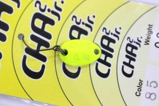 ロデオクラフト チャチャ CHA2 Jr 0.9g #85 蛍光イエロー/レッドグロー 両面グロー
