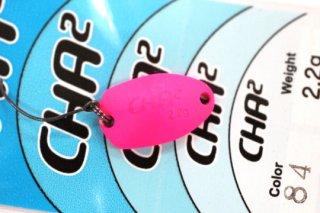 ロデオクラフト チャチャ CHA2 2.2g #84 蛍光ピンク/蛍光オレンジ 両面グロー