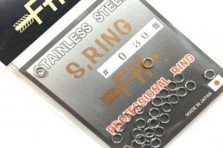 フィールドハンター スプリットリング S.RING シルバー #0